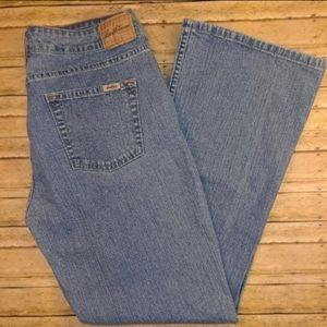 Levi's Signature Stretch Bootcut Lowrise Jeans 12S